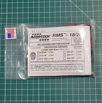 D13-4W RMS Reloadable Motor