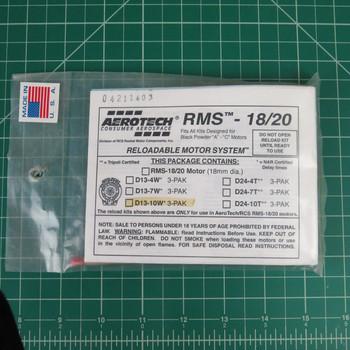 D13-10W RMS Reloadable Motor