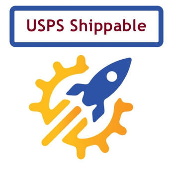 This item can ship inexpensively via USPS Parcel Post, or you can pick it up in person for free!