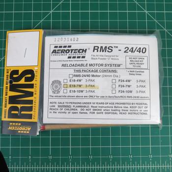 E18-7W RMS Reloadable Motor