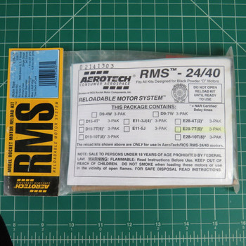 E28-7T RMS Reloadable Motor