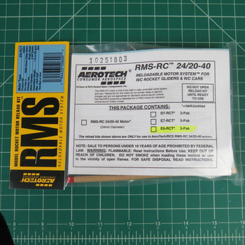 E6-RCT RMS-R/C Reloadable Motor