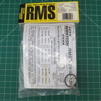 G64-7W Model Rocket RMS Reloadable Motor