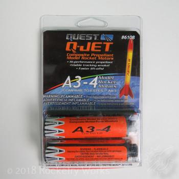 2 pack of A3-4 Motors