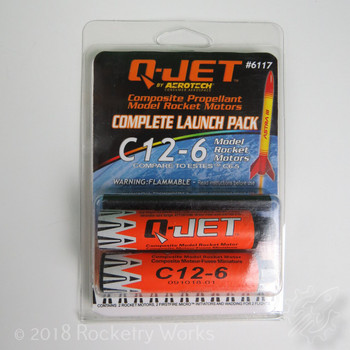 2 pack of C12-6 motors
