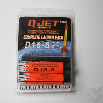 Quest D16-8 Model Rocket Motor
