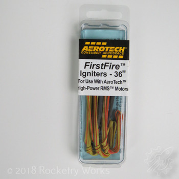 3 pack of First Fire Igniters for H motors and up.
