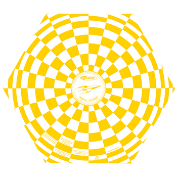 9 inch parachute (yellow)
