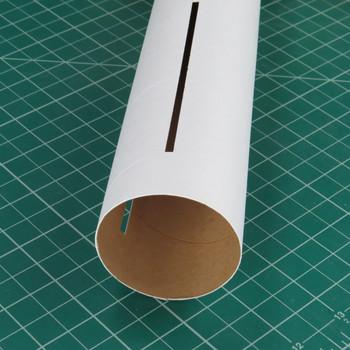 3-Slotted BT-70 White Body Tube