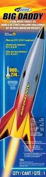 Big Daddy Model Rocket Packaging
