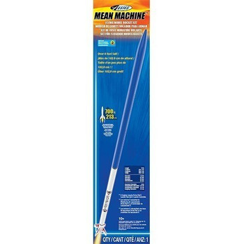 Mean Machine Model Rocket Packaging