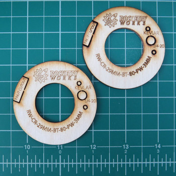 29mm - BT-80 Plywood Centering Rings