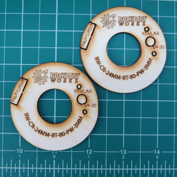 24mm - BT-80 Plywood Centering Rings