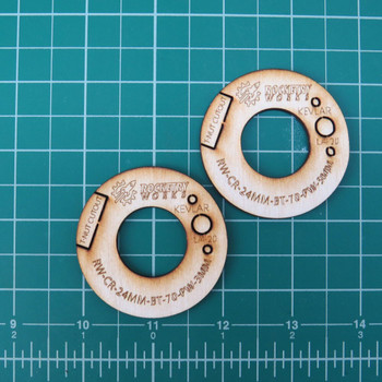 24mm - BT-70 Plywood Centering Rings