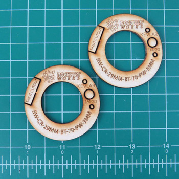 29mm - BT-70 Plywood Centering Rings
