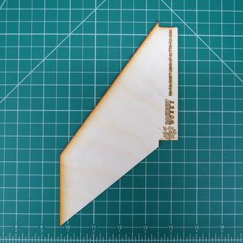Plywood through the wall fin for 29mm motor tube in BT-80 body tube