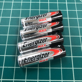 4 x AA Batteries for Estes launch controller