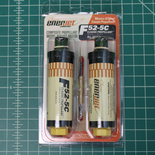 2 pack of F52-5C motors