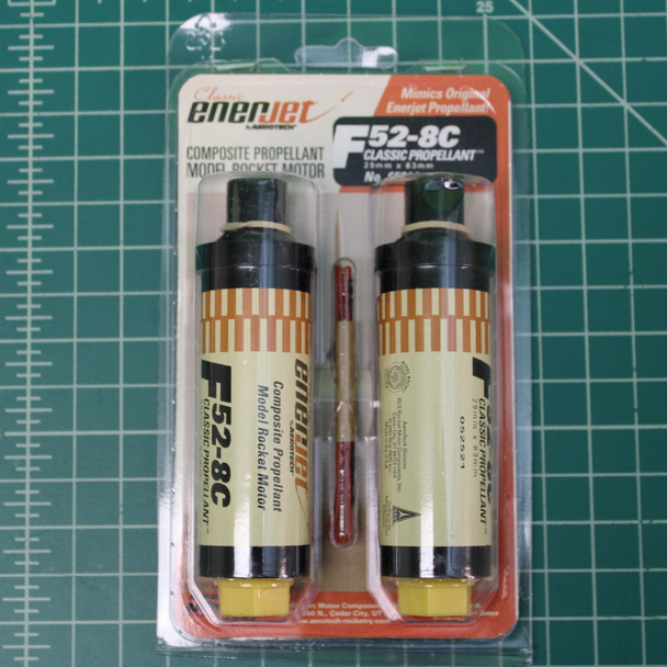 2 pack of F52-8C motors