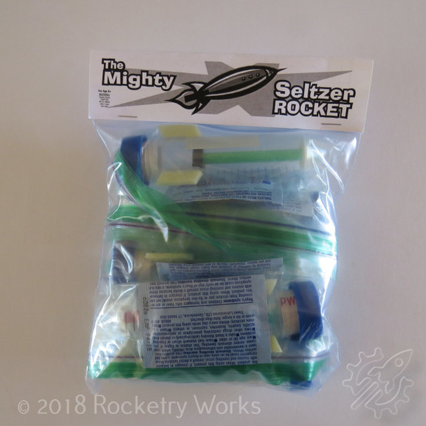 Teacher 5-pack of The Mighty Seltzer Rocket by CSC Toys