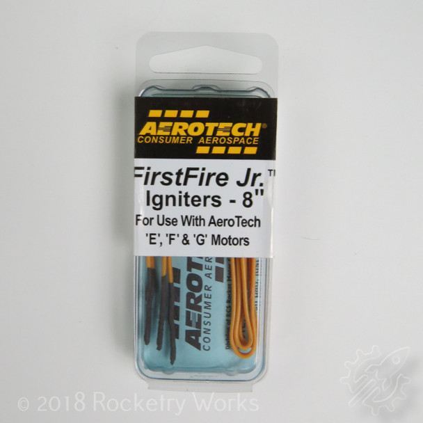 3 pack of Aerotech's First Fire Jr. igniters for E, F, and G motors