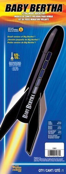 Big Bertha Model Rocket Packaging