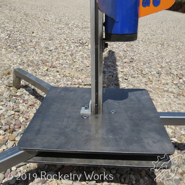 Wallops Island Launch Pad Blast Plate Detail