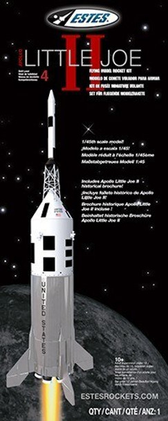 Little Joe II Model Rocket Packaging