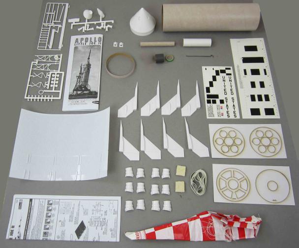 Little Joe II Model Rocket Contents