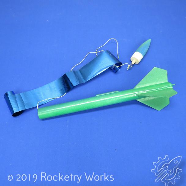 BMS School Rocket Deployed