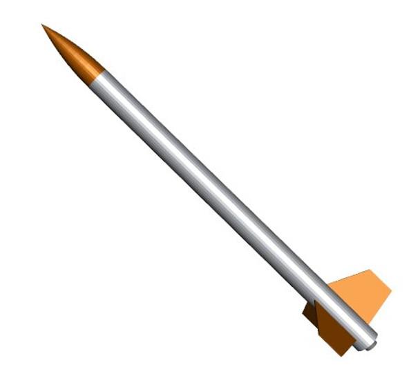 Payloader Model Rocket Kit