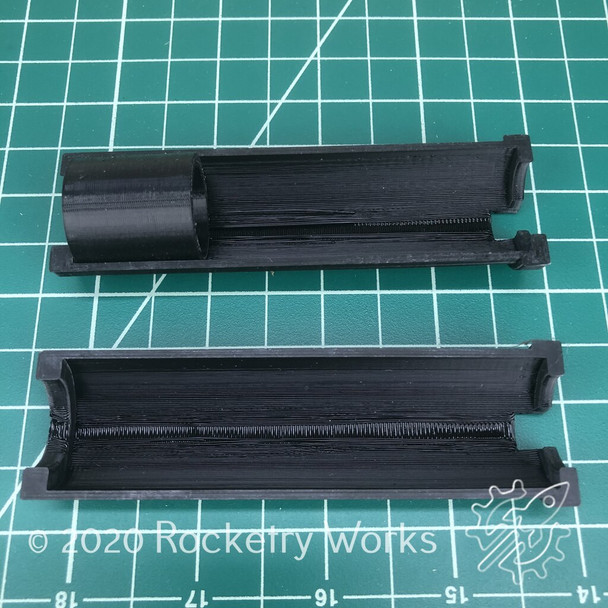 Rocketry Works 3D Printed 24mm - 29mm Motor Adapter with spacer