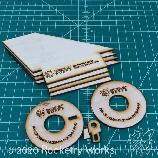 Plywood Big Daddy Upgrade Set 24mm