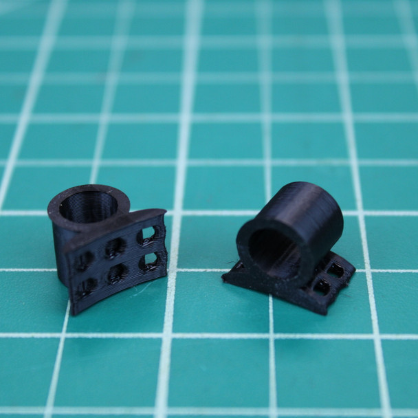 3D Printed 1/4 inch Launch Lugs (1 pair)