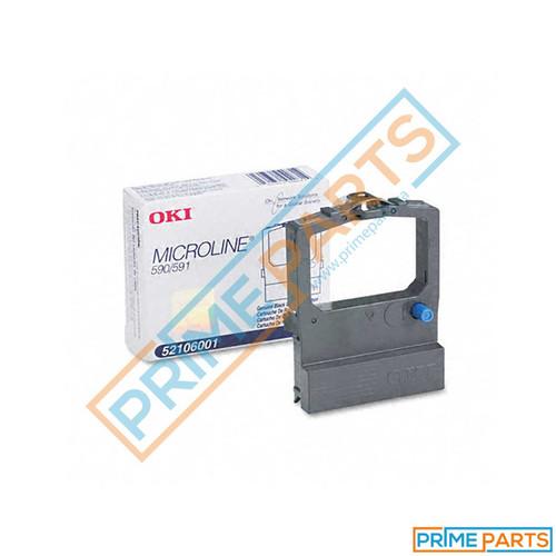 Oki 52106001 Black Ribbon