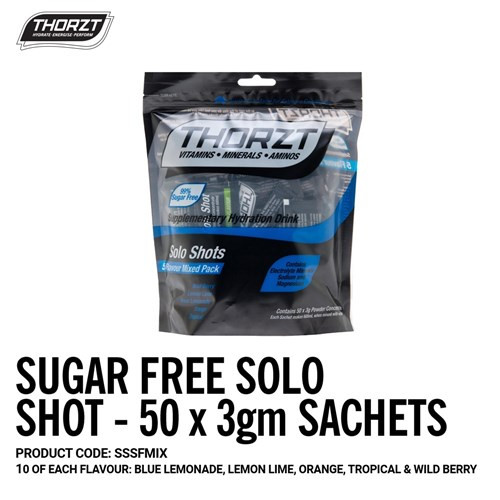 Thorzt Sugar Free 50 pack Carton 10