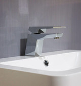 GREY LINEN Wet Wall Panel - 1M, With Sink