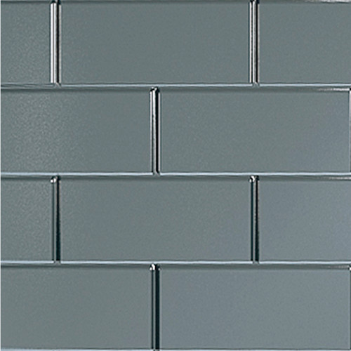 Metro Tile Effect Multipanel Grey - Portrait