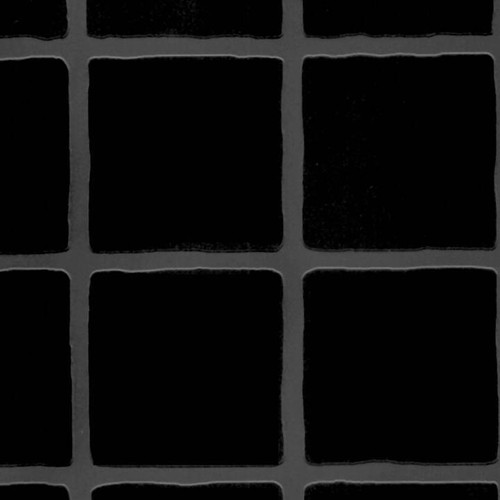 Black Large Matt Embossed Tile Effect Multipanel