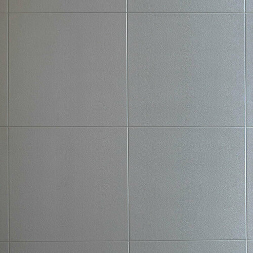 Light Grey Stone Large Format Tile Effect Multipanel