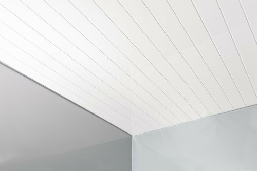 Ceiling Package Deal - Double Chrome Inlay Matt  250mm
