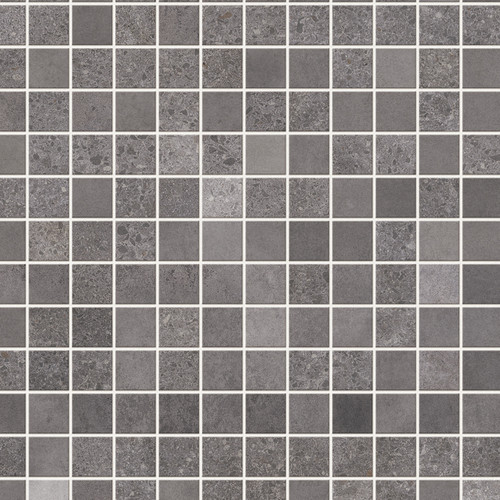 Italia Graphite Mosaic Premium Wet Wall Panel - 1 Metre
