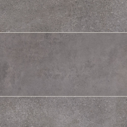 Italia Graphite Tile Premium Wet Wall Panel - 1 Metre