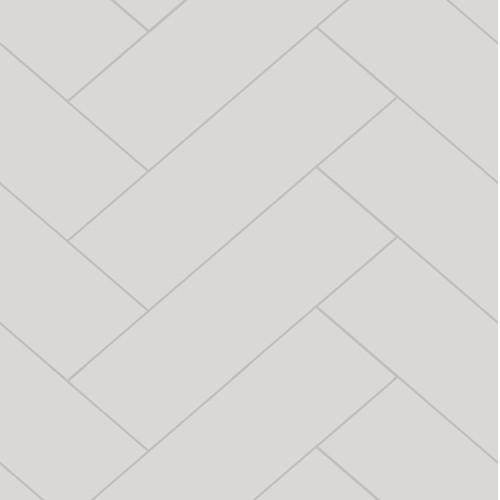 Fibo Herringbone White Silk Wall Panel