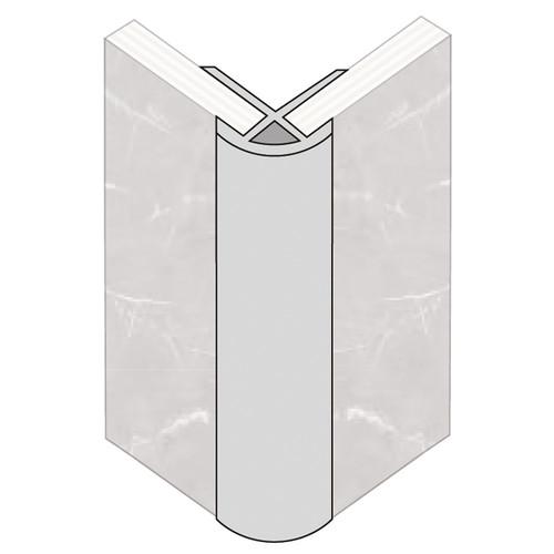 Fibo External Corner PVC Trim