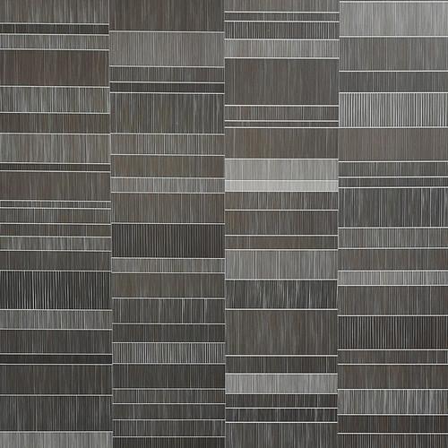 Nassau Dark Brown Tile Effect Panel - 250mm