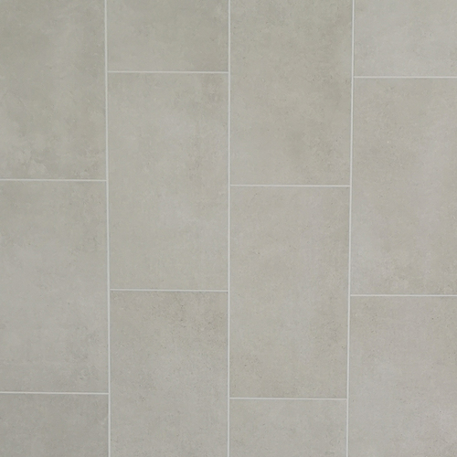 Klassic Grey Matt Tile Effect Panel - 250mm