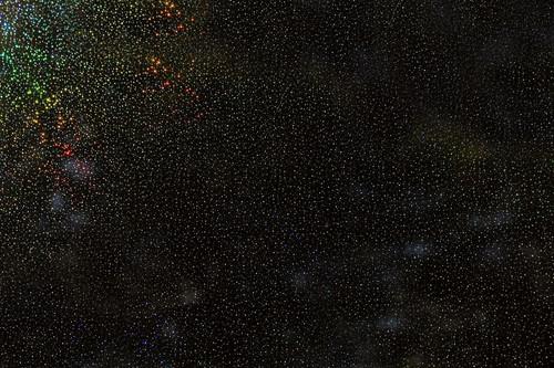 Black Zodiac Wet Wall Panel - 1M