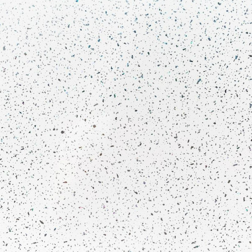 White Sparkle Wet Wall Panel - 1 Meter