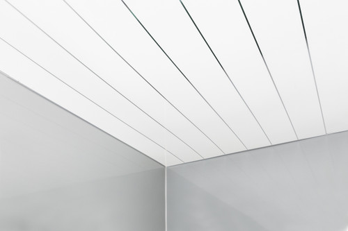 Ceiling Panel Package Deal - White Single Inlay 250mm